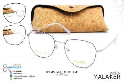 glasses MALAKER 86045 54[]18-145 C4